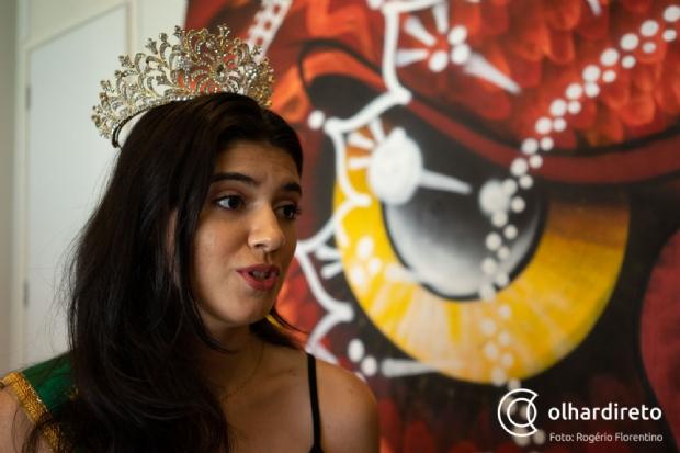 Cuiabana supera depressão e cicatrizes de automutilação e se torna Miss Teen