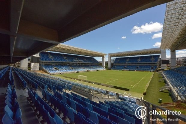 Arena Pantanal recebe visita de consultor do Allianz Parque para viabilizar shows no gramado